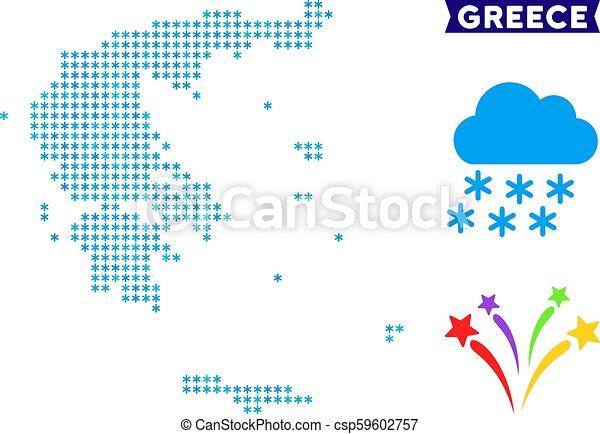 Freeze Greece Map