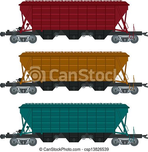 Railroad car Illustrations and Clipart  4,200 Railroad car royalty