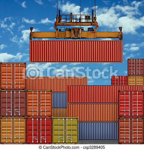Freight Containers - csp3289405