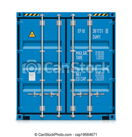 Freight shipping, cargo container - csp19564671