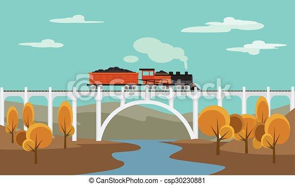 Freight train - csp30230881