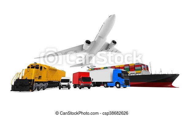 Freight Transportation - csp38682626