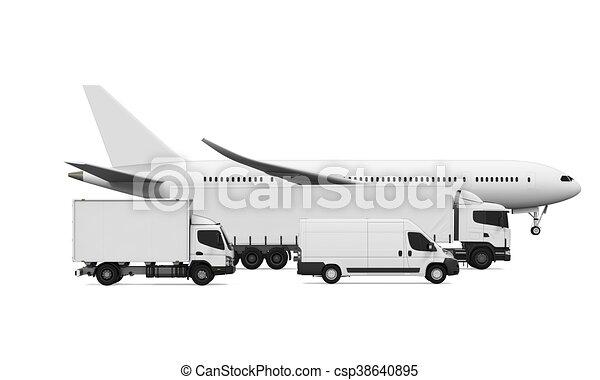 Freight Transportation - csp38640895