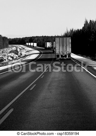 Freight Transportation - csp18359194
