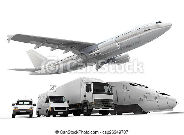 Freight transportation - csp26349707