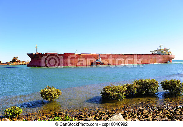 Freight vessel ship iron ore - csp10046992