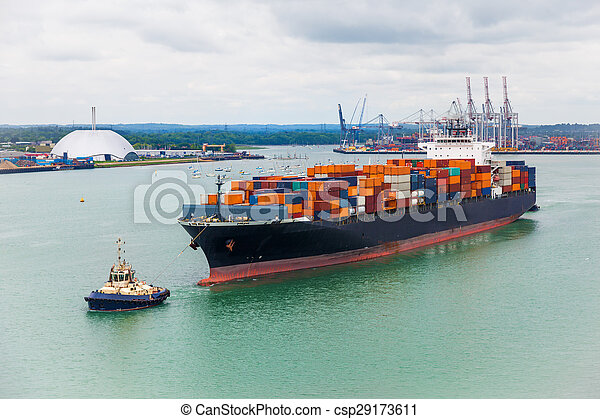 freighter shipping - csp29173611