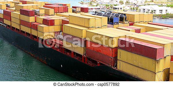 Freighter - csp0577892