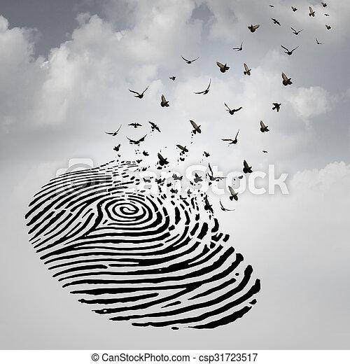freiheit, begriff, identität - csp31723517
