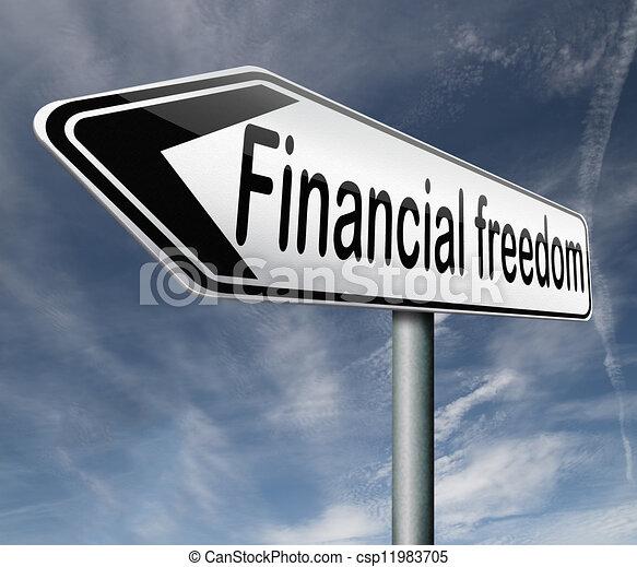 freiheit, finanziell - csp11983705