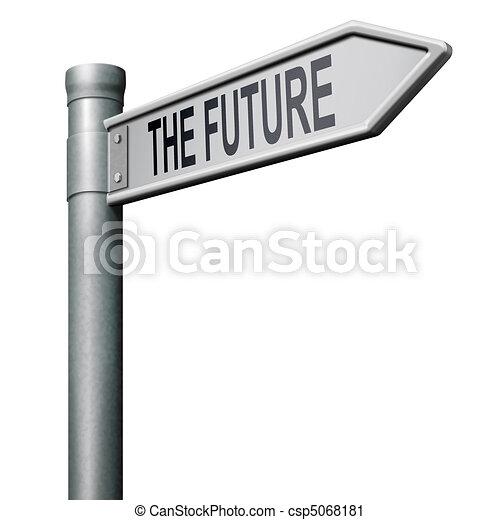 fremtid, vej - csp5068181