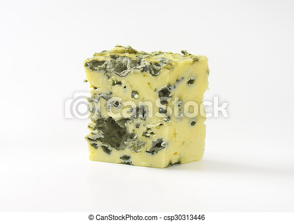 piece of french blue cheese