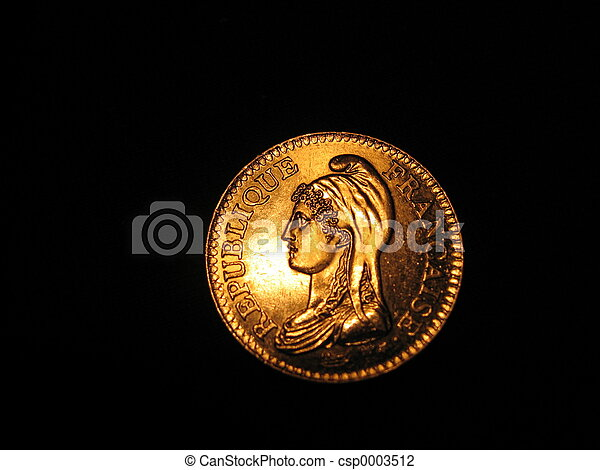 French coin - csp0003512