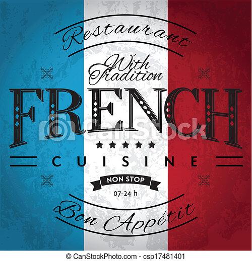 French Cuisine - csp17481401