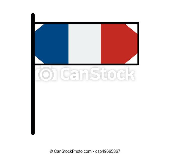 french flag clip art vector search drawings and graphics images rh canstockphoto com france flag clip art french flag clip art free
