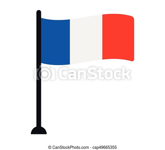french flag rh canstockphoto com Spain Flag Clip Art france flag clipart black and white