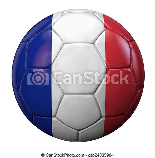 Flag football drawing