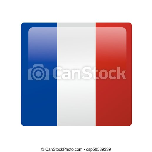 French flag vector - csp50539339