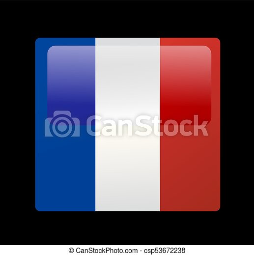 French flag vector - csp53672238
