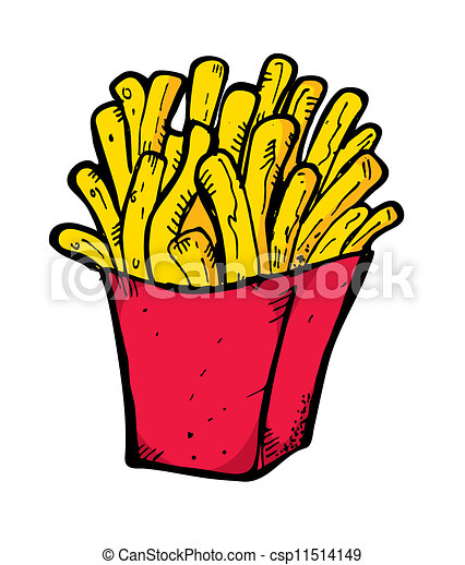 french fries doodle eps vector search clip art illustration rh canstockphoto com hamburger and french fries clip art hamburger and french fries clip art