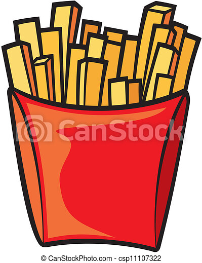 french fries - csp11107322