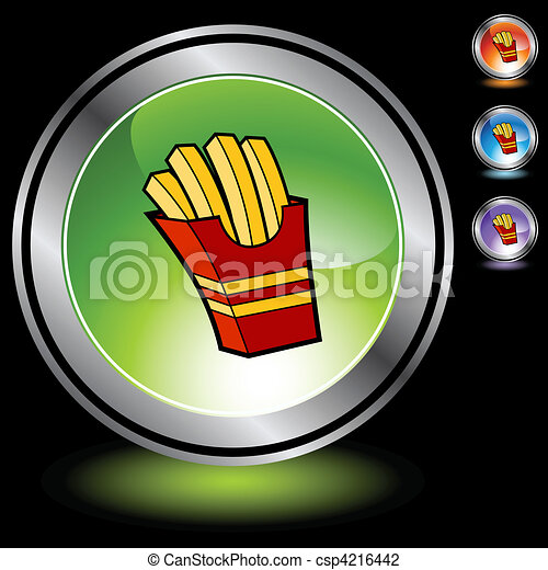 French Fries - csp4216442