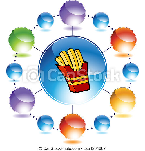French Fries - csp4204867