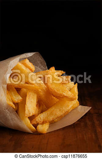French fries in packet - csp11876655