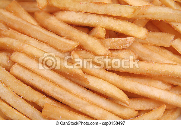 french fries - csp0158497