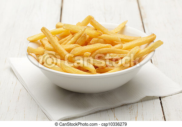 French fries - csp10336279