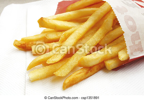 French Fries - csp1351891