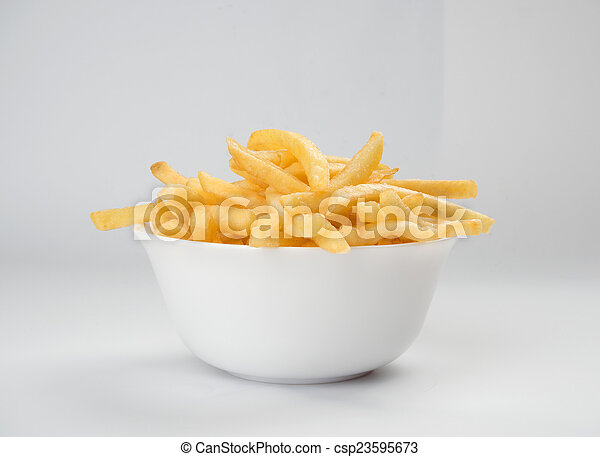french fries - csp23595673