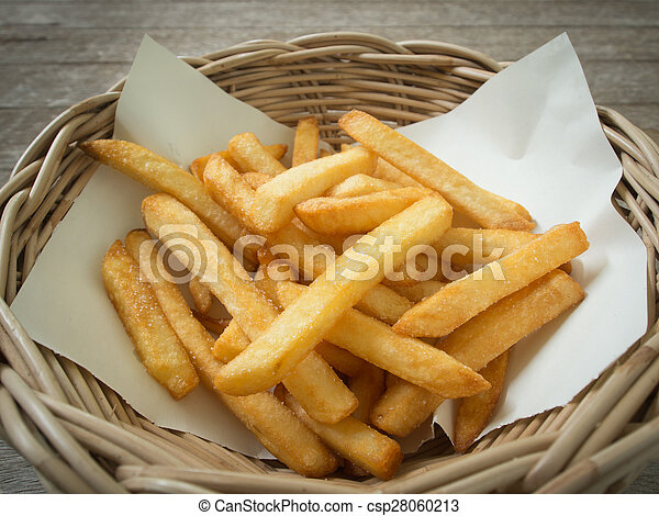 French fries - csp28060213