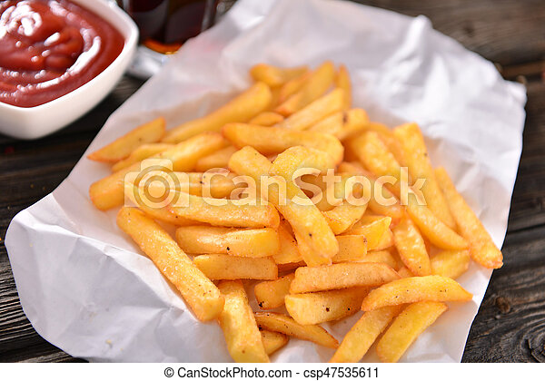 French fries - csp47535611