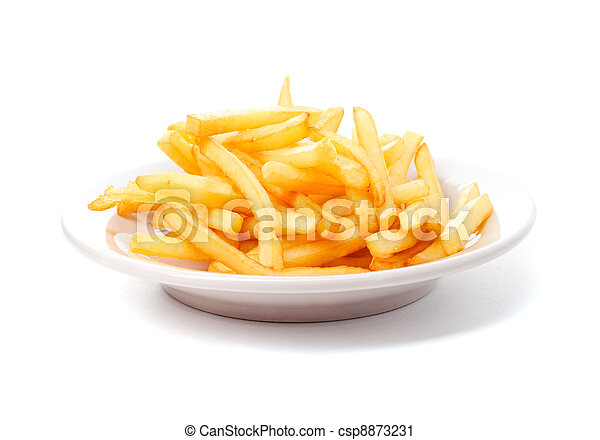 French fries - csp8873231