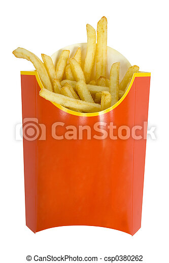 French fries - csp0380262
