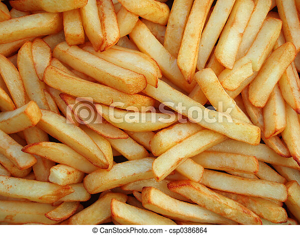 French fries - csp0386864
