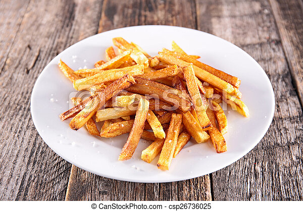 french fries  - csp26736025