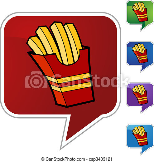 French Fries - csp3403121