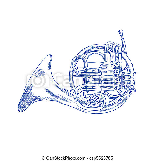 French Horn - csp5525785