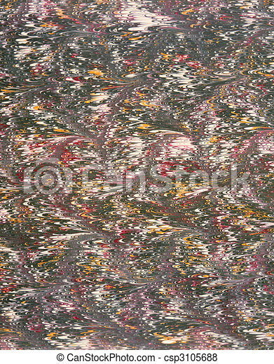 french marbled paper 4 - csp3105688