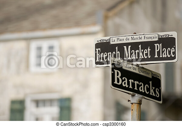 French Market Place - csp3300160