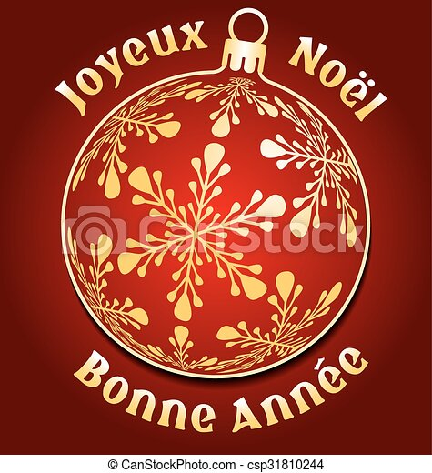French merry christmas and new year background french merry french merry christmas and new year background csp31810244 m4hsunfo