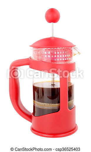 French Press Coffee Maker - csp36525403