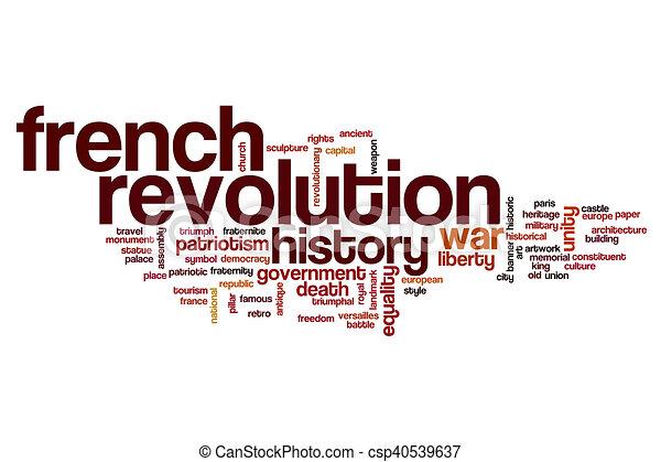 french revolution word cloud concept rh canstockphoto com French Revolution Flag Napoleon French Revolution