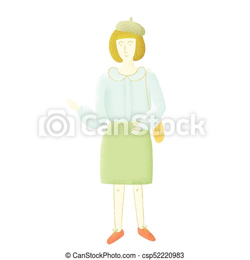 French woman - csp52220983
