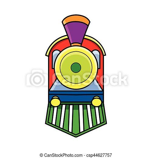 Locomotive de primera vista - csp44627757