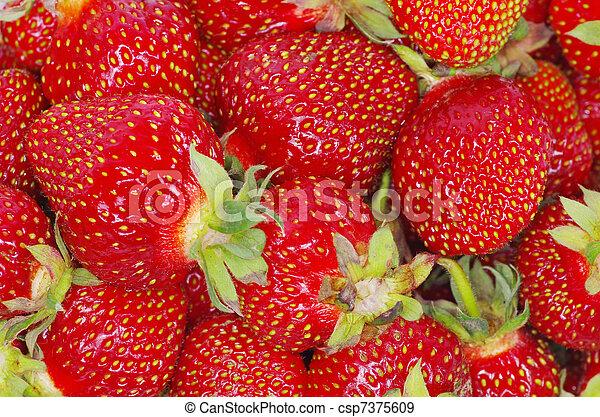 textura de fresa - csp7375609
