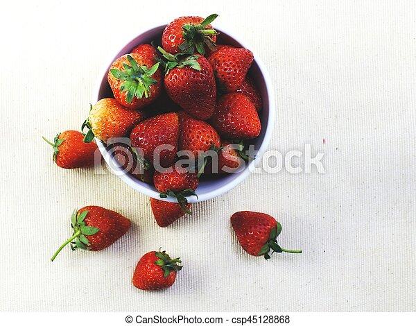 Fresas - csp45128868