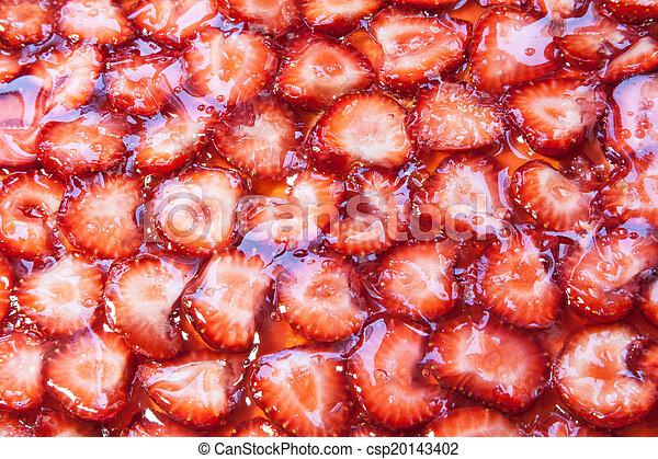 Fresas de gelatina - csp20143402